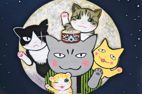 無料 モアイ 猫 夜回り ツイッター漫画が届けた…涙に寄り添う手紙 杏さん愛読「夜廻り猫」